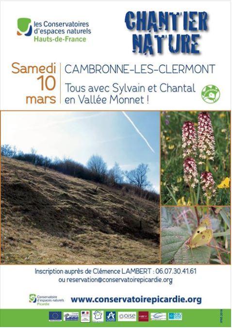 Chantier nature 10 mars