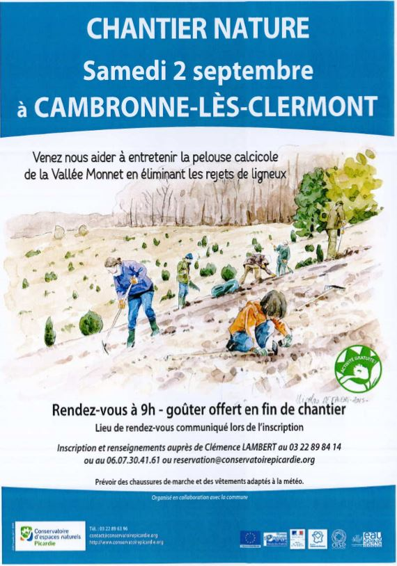 Chantier nature 2 septembre